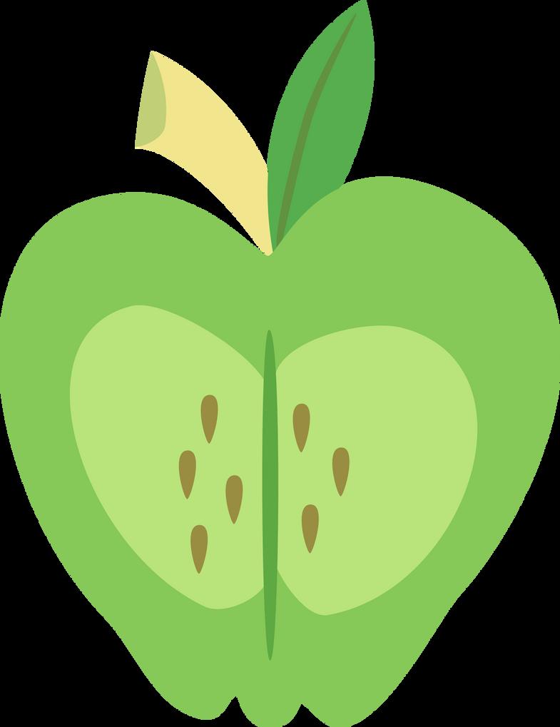 Big Macintosh's cutie mark by The-Smiling-Pony