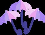 Umbrellas cutie mark