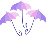 Umbrellas cutie mark