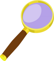 Magnifying glass cutie mark by The-Smiling-Pony