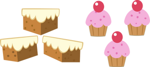 Mr and Mrs Cake cutie marks