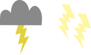 Lightning bolt cutie marks