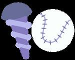 Screwball's cutie mark