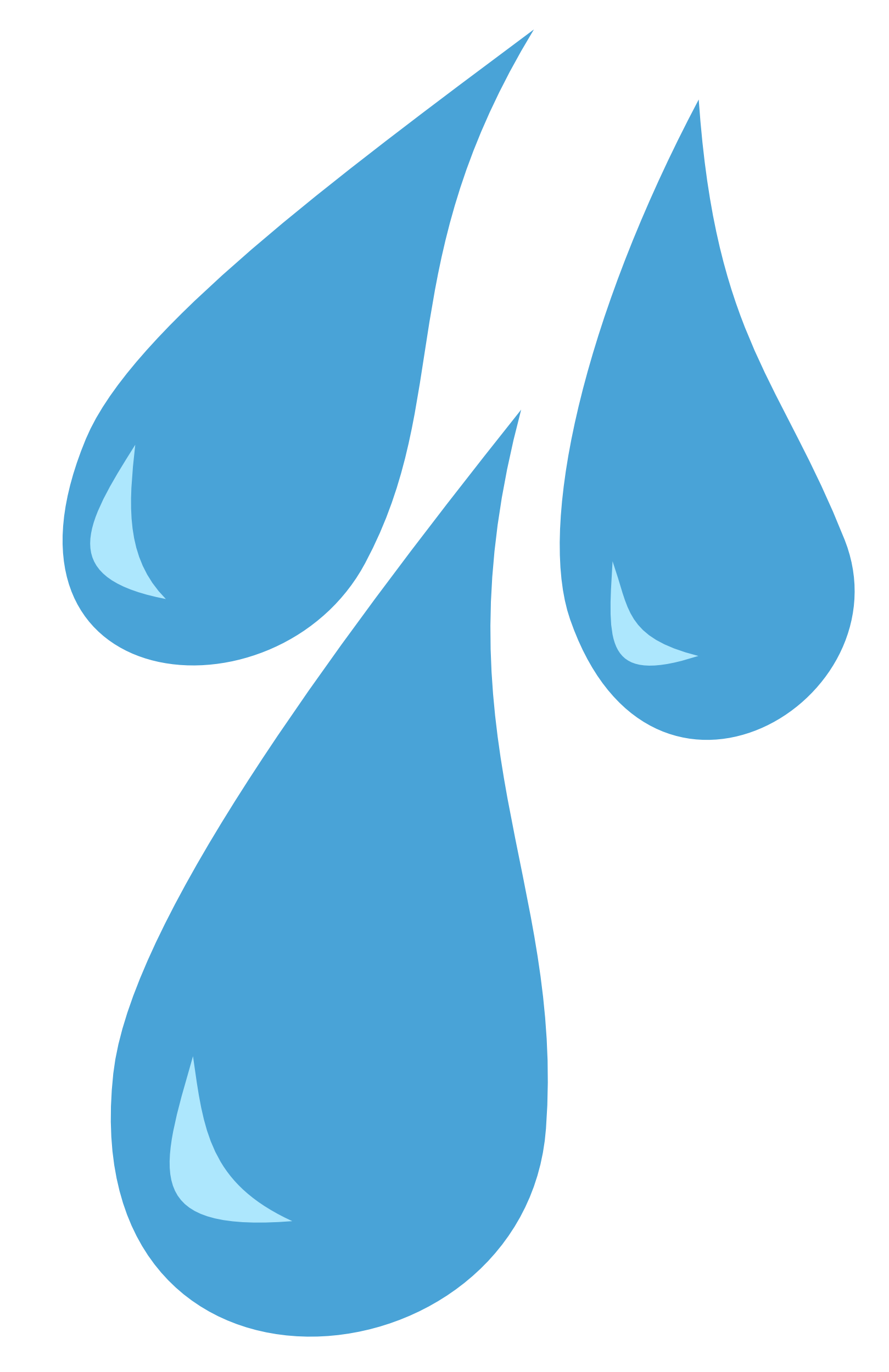 Raindrops cutie mark