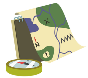 Map and compass cutie mark request