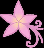 Plumeria cutie mark by The-Smiling-Pony