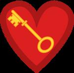 Heart and Key cutie mark