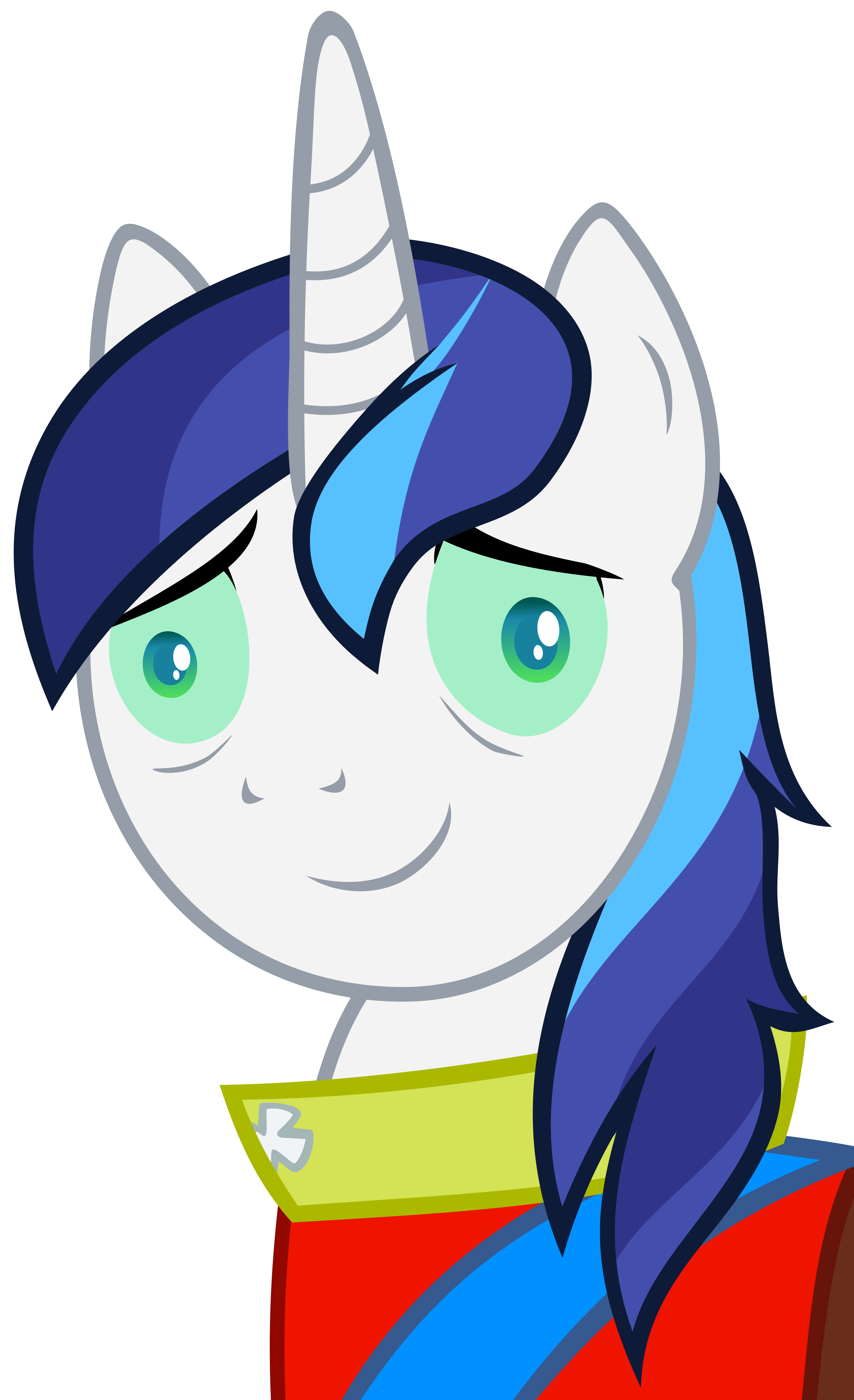 Shining Armor at his best by The-Smiling-Pony