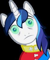Shining Armor shining bright by The-Smiling-Pony