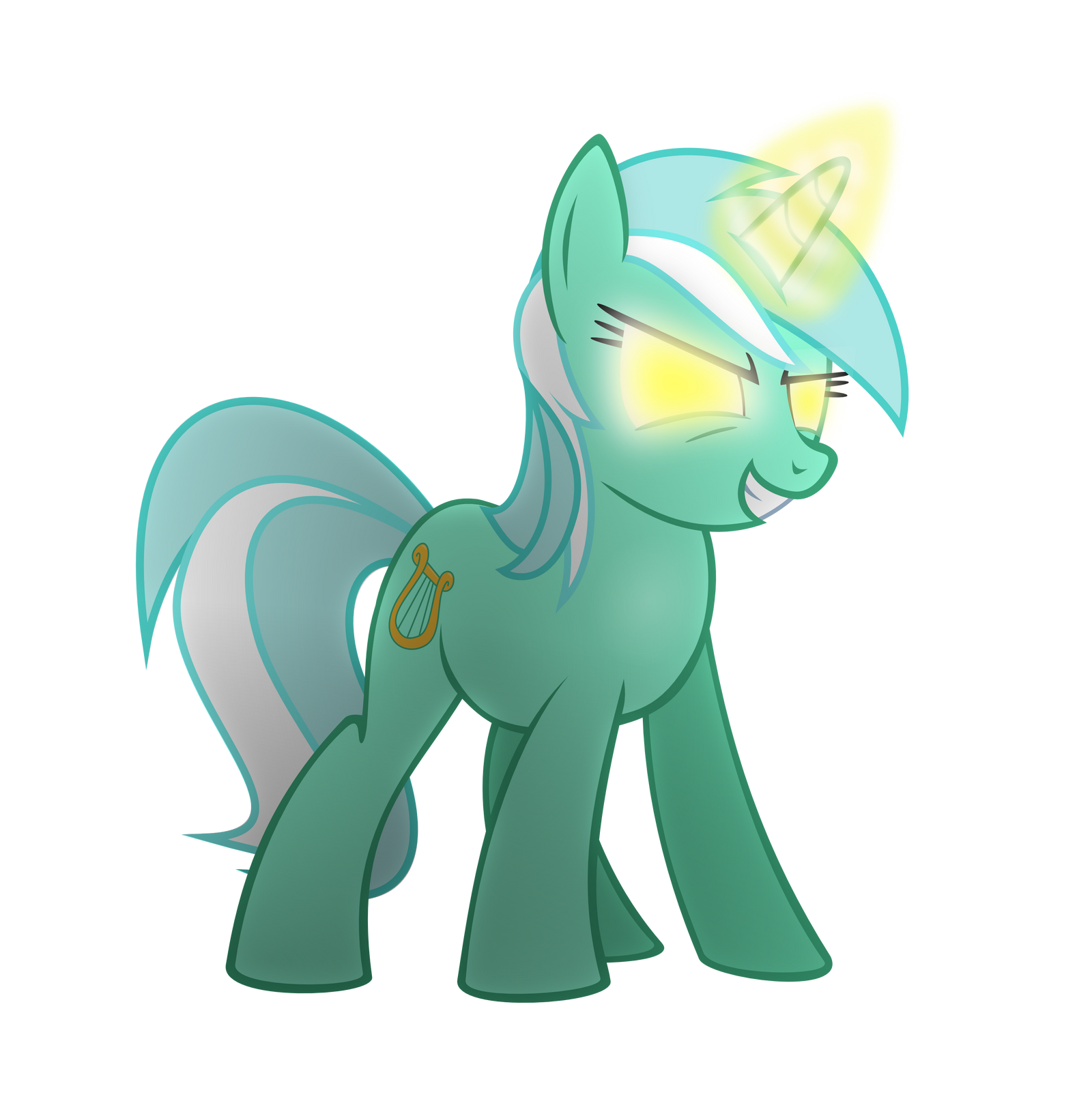 Lyra is a bit upset by The-Smiling-Pony