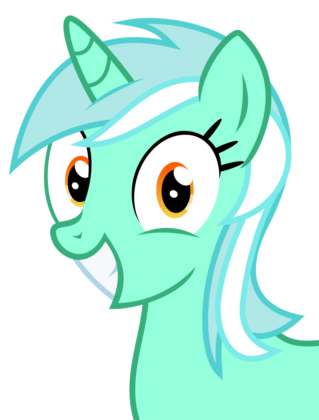 overly happy lyra by the smiling pony on deviantart