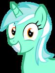 Overly happy Lyra