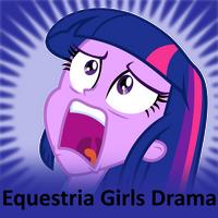dramadramadramadramadramadrama by The-Smiling-Pony