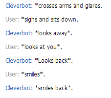 roleplay with clever bot XD by rihab724