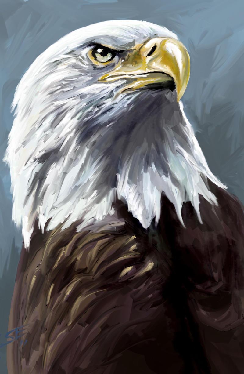 Speed painting: Eagle