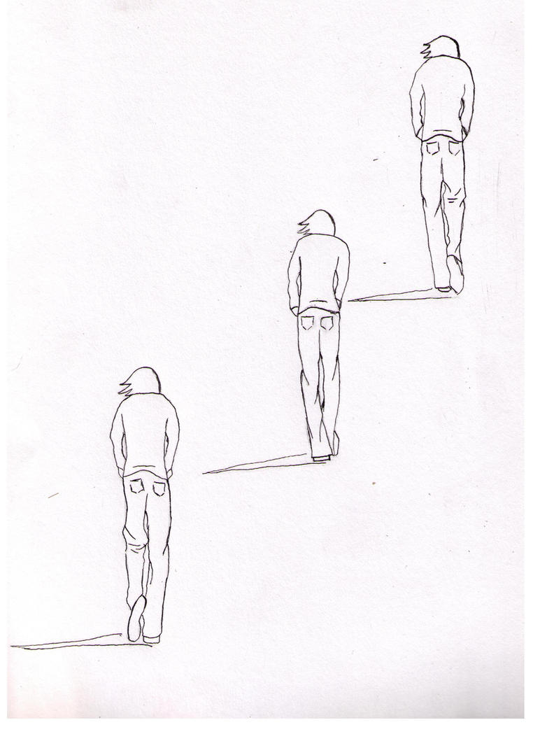 Drawings Of People Walking Away | www.pixshark.com ...