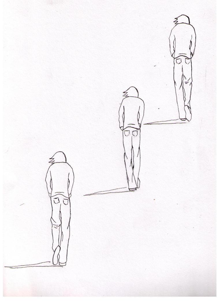 Drawings Of People Walking Away | www.pixshark.com ...
