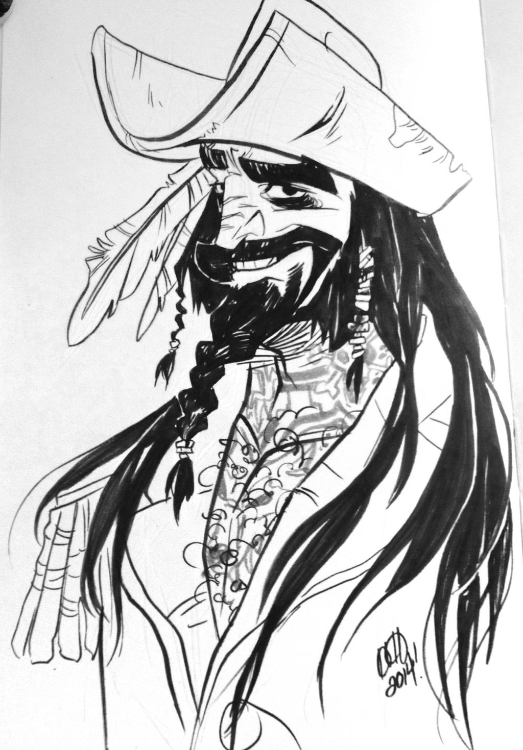 Blackbeard by haylzherrick
