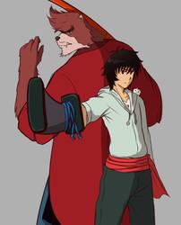 The Boy and The Beast by TaiKatsu05
