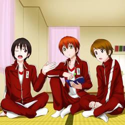 Afterschool Navigators Genderbend by TaiKatsu05