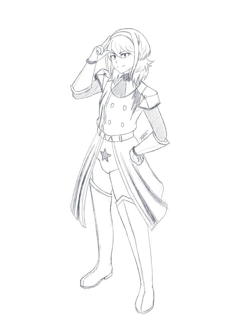 Sketch Commission - SAM by TaiKatsu05