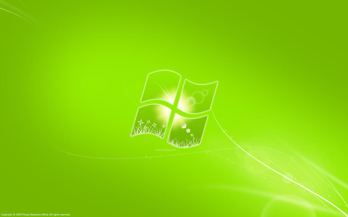 Windows 7 green by pricop on deviantart