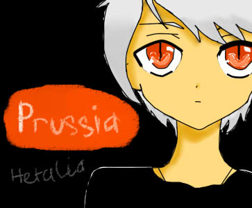 Hetalia no naku koro ni - Yandere Prussia by Prussia4