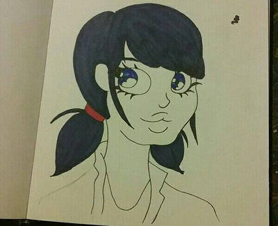 Miraculous Marinette  by kittcry99
