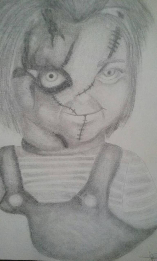 Chucky  by kittcry99