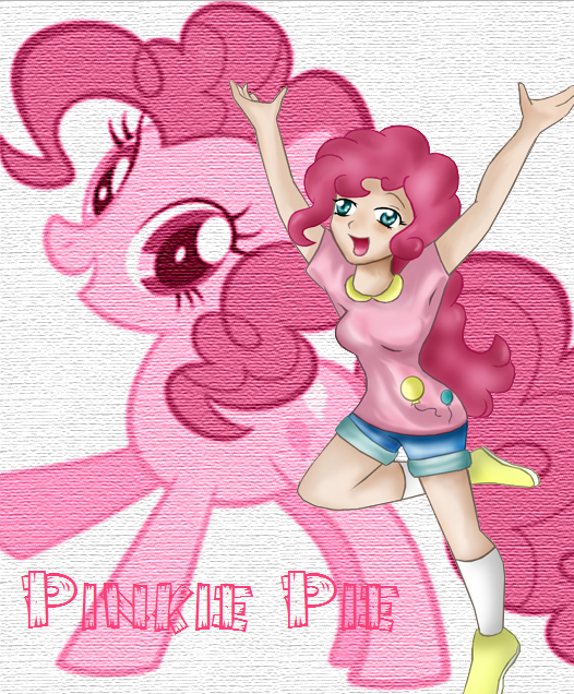 ..::MLP - Human Pinkie Pie::.. by xxHidden-Soulxx