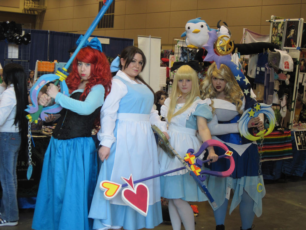 Princesses of Keyblades by AnaxErik4ever