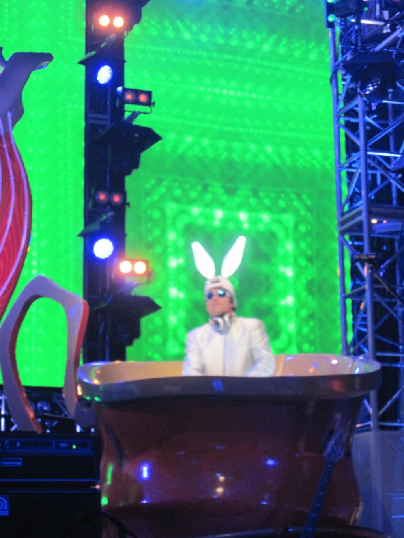 dj white rabbit by anaxerik4ever on deviantart