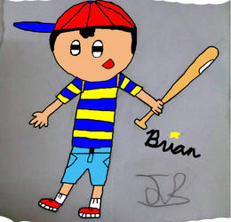 Happy Ness Colored by PK-Gaming