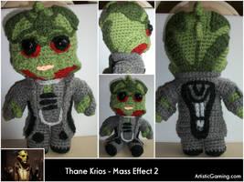 Thane Krios - Mass Effect 2 by GamerKirei