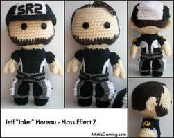 Jeff 'Joker' Moreau - ME 2 by GamerKirei