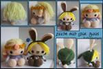 Zelda and Link Buns