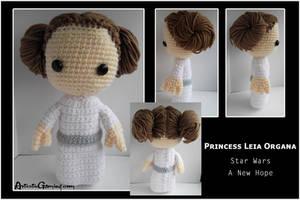 Princess Leia Organa - ANH by GamerKirei