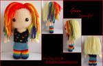 Gwen Loves Rainbows! - Alter Ego by GamerKirei