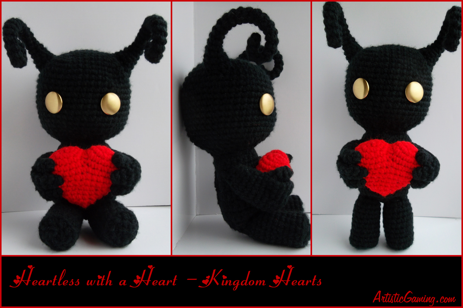 Heartless with a Heart - Kingdom Hearts by GamerKirei