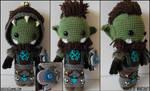World of Warcraft - Orc Custom Sackdoll
