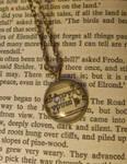 Elvish Script Necklace by GamerKirei