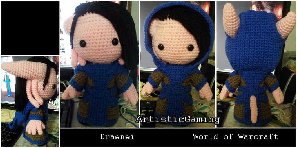 Draenei - World of Warcraft by GamerKirei