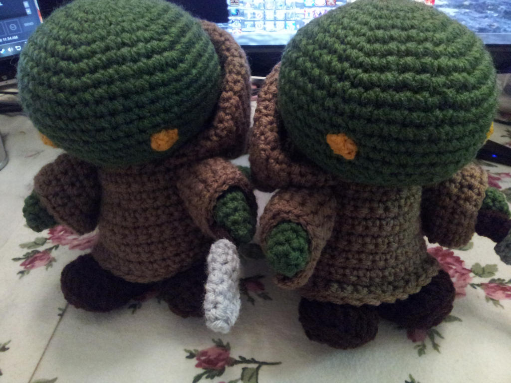 Free Tonberry Crochet Pattern - Final Fantasy