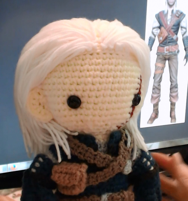 Geralt The Witcher - Making of Video~ by GamerKirei