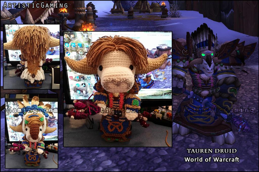 World of Warcraft - Tauren Druid by GamerKirei