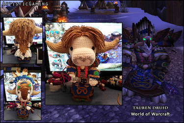 World of Warcraft - Tauren Druid by GamerKirei
