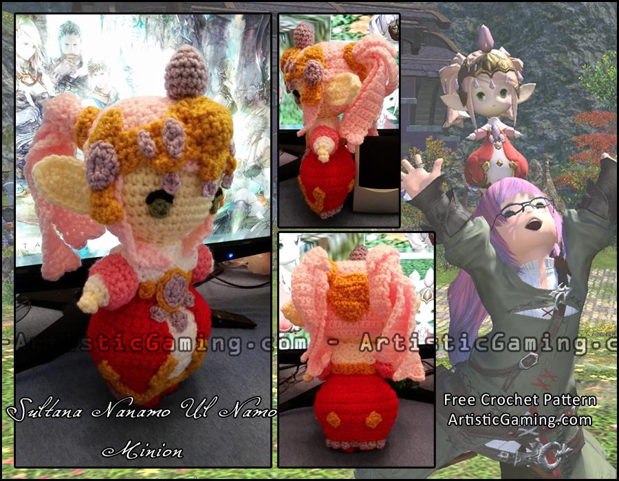 Amigurumi Vivi Free Patterns : Sultana nanamo final fantasy xiv crochet pattern by gamerkirei on
