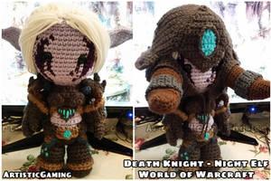 Death Knight - Night Elf - World of Warcraft