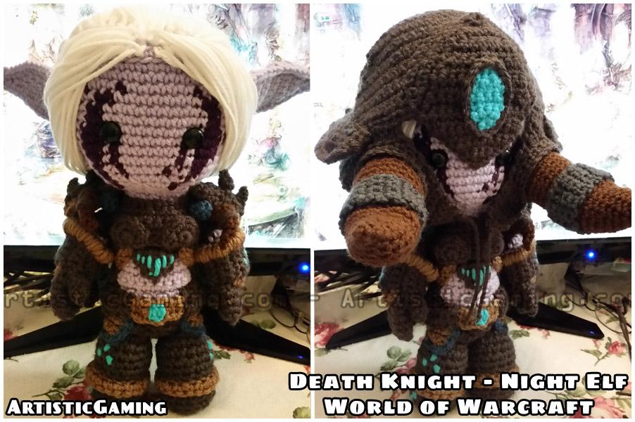 Death Knight - Night Elf - World of Warcraft by GamerKirei