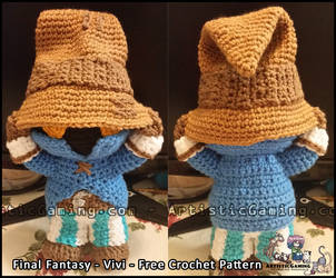 Vivi - Free Crochet Pattern - Final Fantasy by GamerKirei